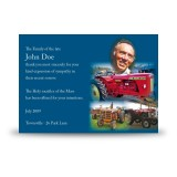 Vintage Tractors Acknowledgement Card