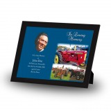 Vintage Tractors Framed Memory
