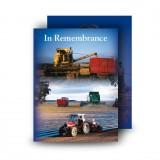 Farming No 1 Standard Memorial Card