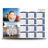 Farming No 1 Calendar Single Page