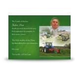 Farming No 2 Acknowledgement Card