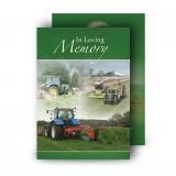 Farming No 2 Standard Memorial Card