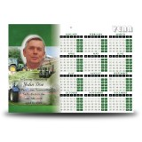 Farming No 2 Calendar Single Page