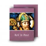 Saint Patrick No 1 Standard Memorial Card