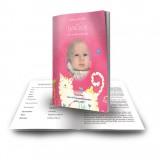Winnie The Poo Girl Funeral Book
