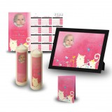 Winnie The Poo Girl Wall Package