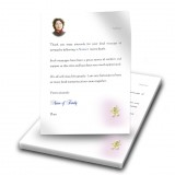 Teddybear Girl Thank You Letter