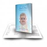 Teddybear Boy Funeral Book