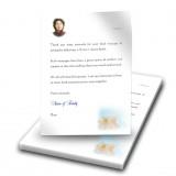 Teddybear Boy Thank You Letter