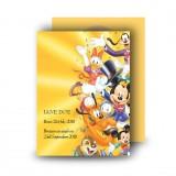 Disney Child Girl Standard Memorial Card