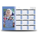 Disney Child Boy Calendar Single Page