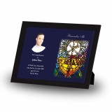 Stained Glass The Eucharist Framed Memory