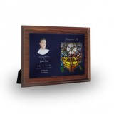 Stained Glass The Eucharist Plaque