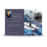 Navy Acknowledgement Card