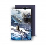 Navy Wallet Card