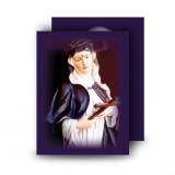 St Rita Standard Memorial Card