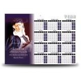 St Rita Calendar Single Page