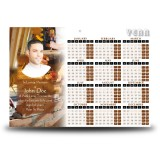Joinery Building Calendar Single Page