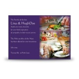 Cookery Acknowledgement Card