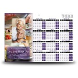 Cookery Calendar Single Page