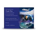 Aviation Acknowledgement Card