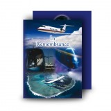 Aviation Standard Memorial Card
