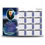 Aviation Calendar Single Page