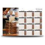 Law and Order Calendar Single Page