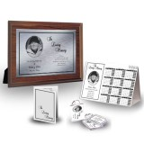 Black and white border Table Package
