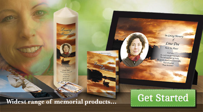 Widest range of memorial products...